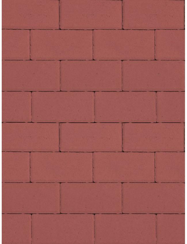 Тротуарная брусчатка Прямоугольник Красный