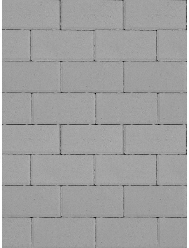 Тротуарная брусчатка Прямоугольник Серый