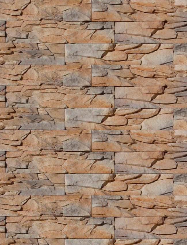 Декоративный камень Угольный пласт 025
