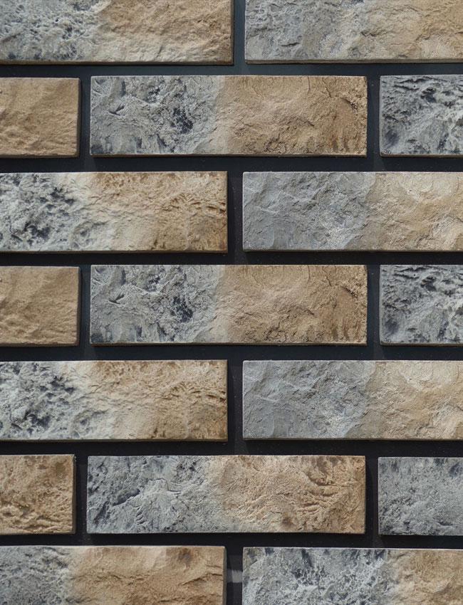 Декоративная плитка под кирпич Римский камень 0505
