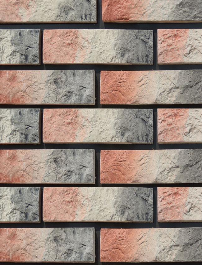 Декоративная плитка под кирпич Римский камень 0506
