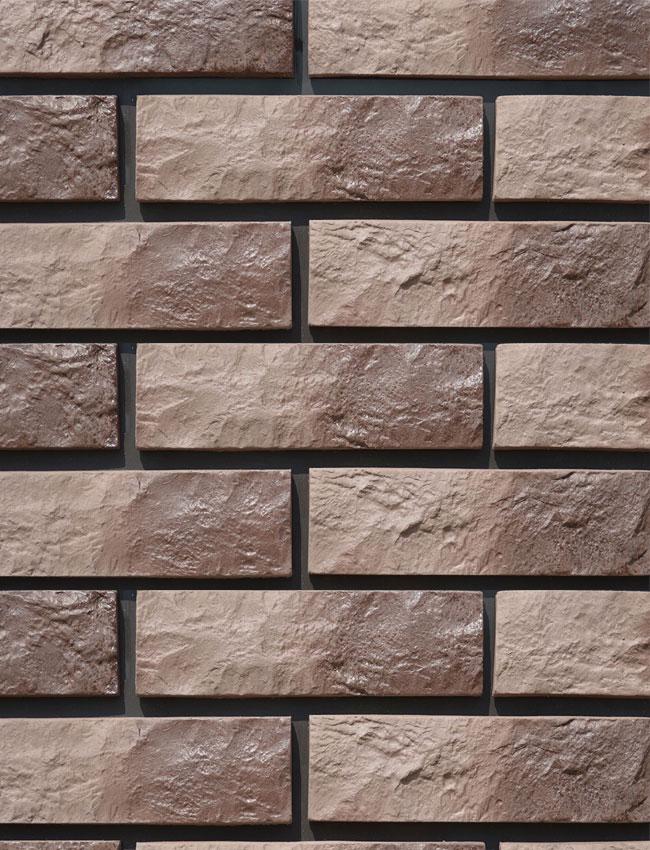 Декоративная плитка под кирпич Римский камень 0507