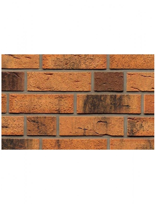 Фасадная плитка ручной формовки Feldhaus Klinker R286 nolani viva rustico carbo, 240*71*14 мм
