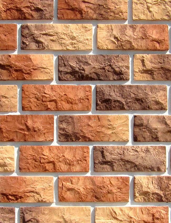 Декоративная плитка под кирпич Дамаскос 1 51-105-10