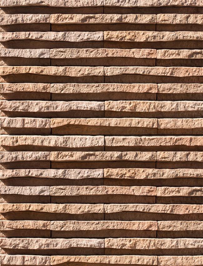 Декоративный камень Линейный рельеф 24060