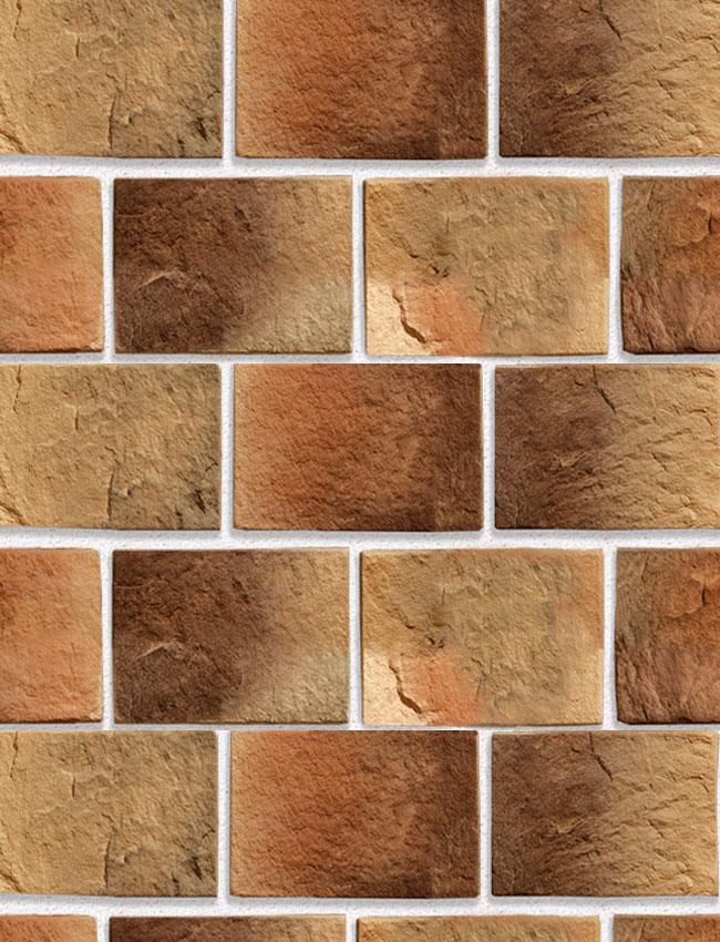 Декоративная плитка под кирпич Старая крепость 22150