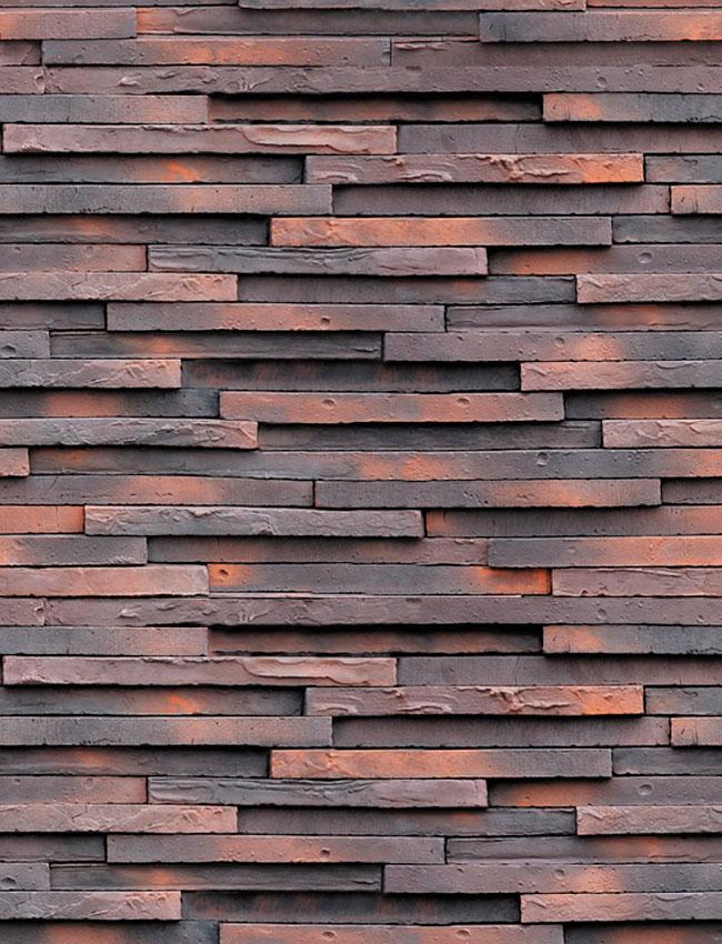 Декоративная плитка под кирпич Зеландский кирпич низкий 37070+38070