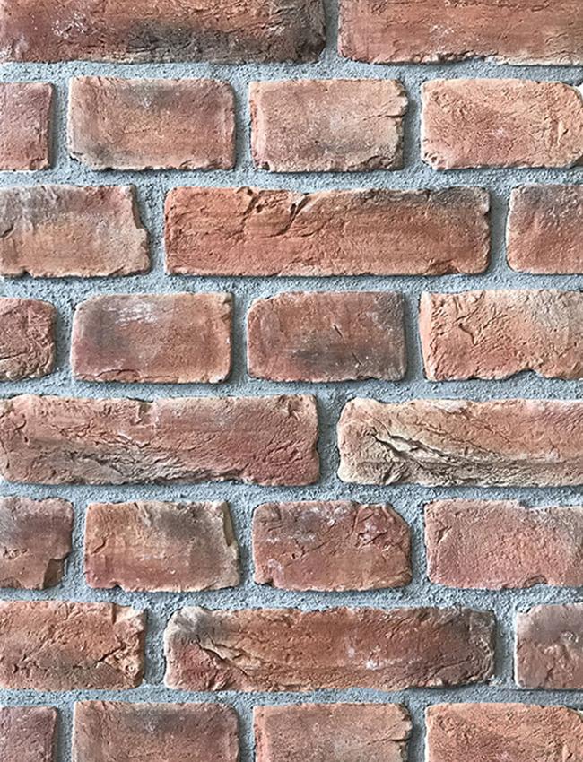 Декоративный кирпич Loft Red Brick