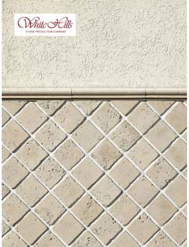 Гипсовая декоративная плитка Тоскана A565-10+A565-11