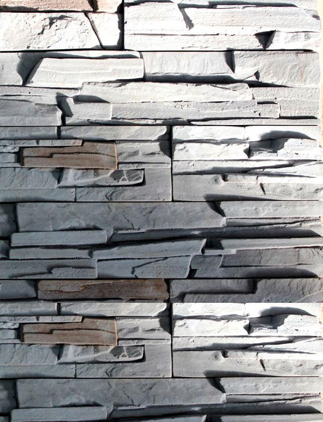 Искусственный камень Северный склон 018