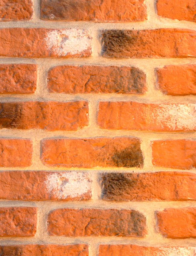 Декоративная плитка под кирпич Античный кирпич 011