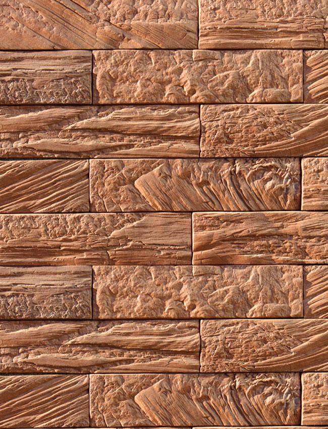 Декоративная плитка под кирпич Древесный кирпич 06