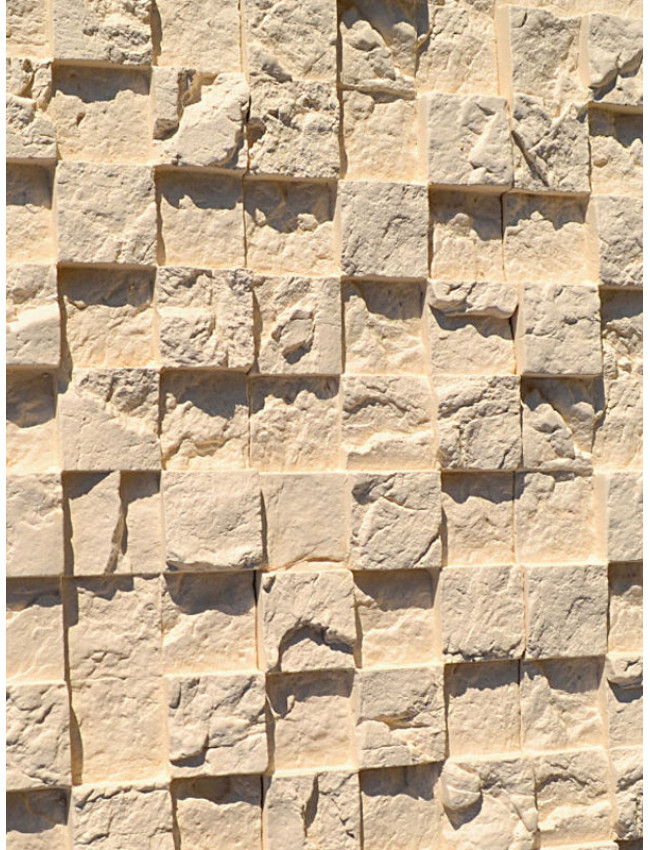 Гипсовая плитка 3D мозаика Миндаль