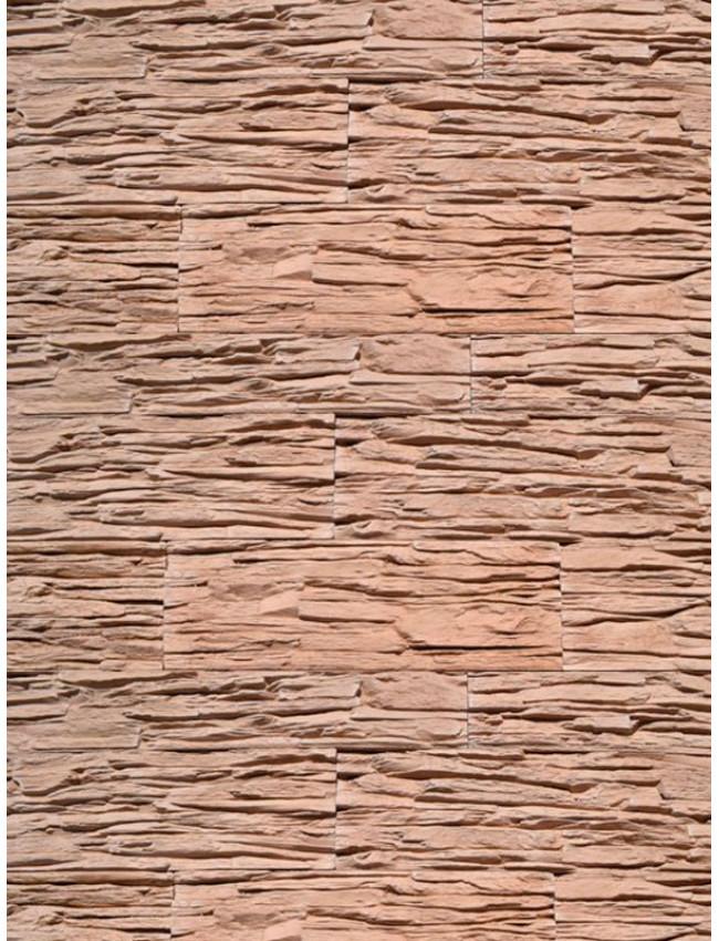 Гипсовый камень Сланец тонкослойный древесно-коричневый