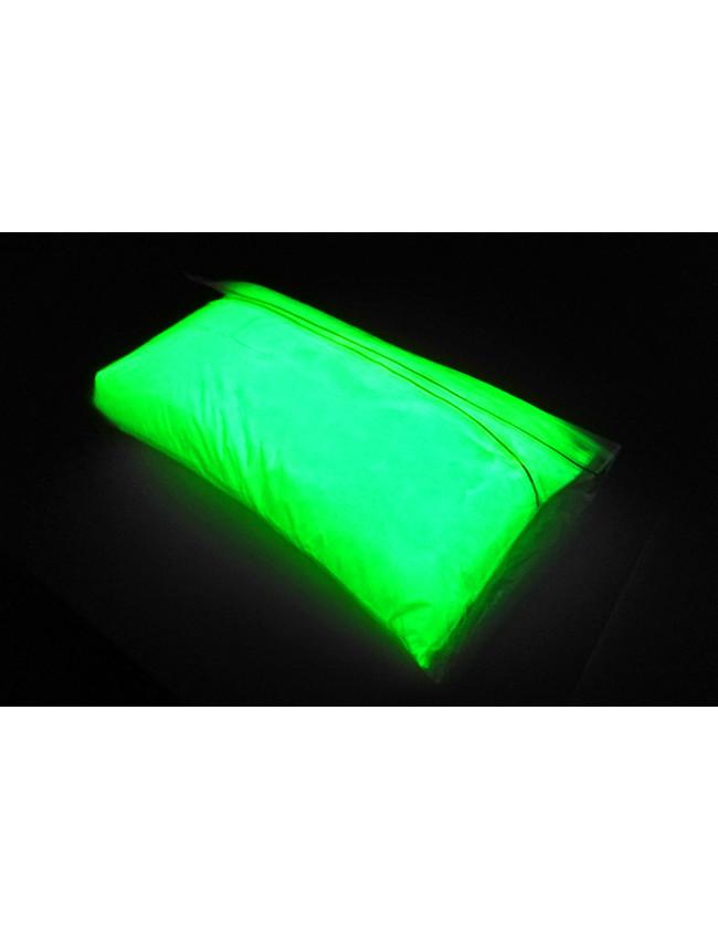 Желто - зеленый фотолюминесцентный пигмент