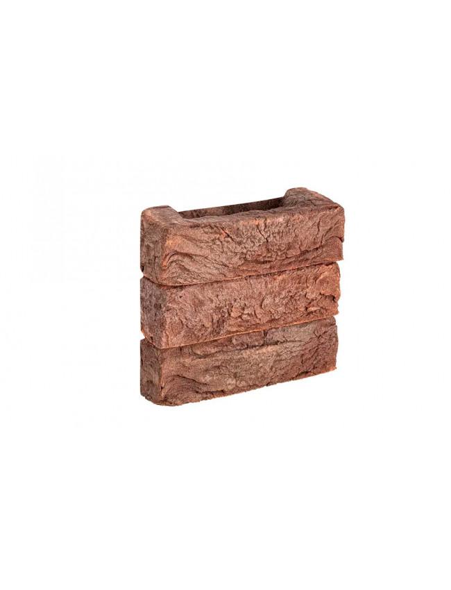 Клинкерная плитка W080/2 Донские зори Ивантеевка узорная, 215*50*65 мм