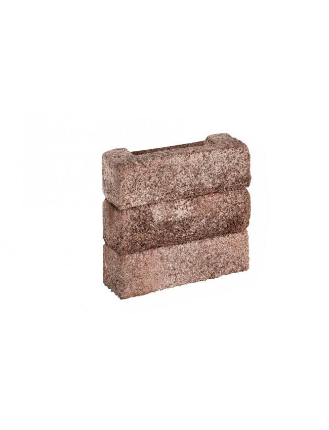 Клинкерная плитка W134/2 Донские зори Серебряно, 215*50*65 мм