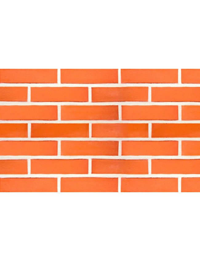 Кирпич облицовочный клинкерный Terca Klinker Brick Red красный гладкий, 250*85*65 мм